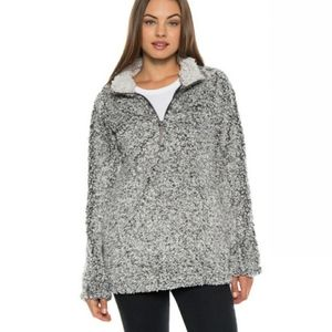 Dylan Sherpa Stadium Pullover Frosty Tipped